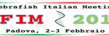 First Italian Zebrafish Meeting - ZFIM 2017