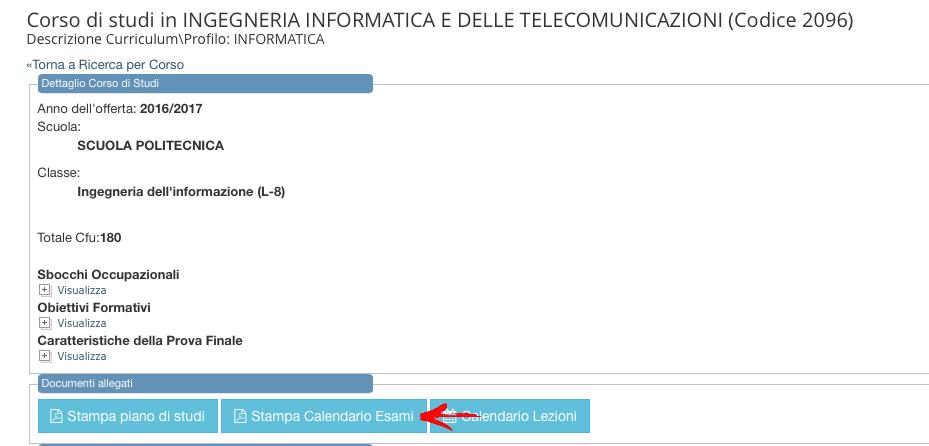 Calendario Esami Unipa.Universita Degli Studi Di Palermo