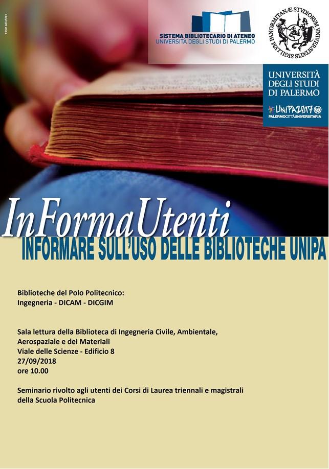 Calendario Lauree Unica Ingegneria.Informautenti Biblioteche Del Politecnico