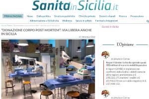 Donazione corpo post mortem via libera anche in Sicilia