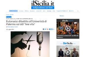 Eutanasia dibattito all'Univeristà di Palermo sul ddl fine vita