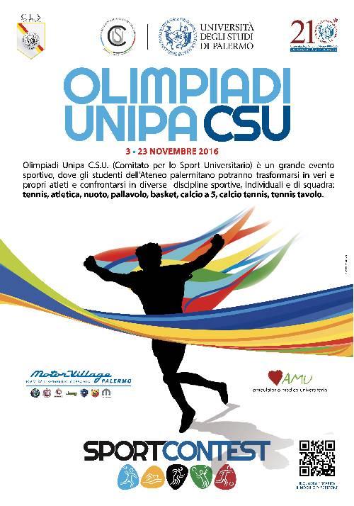 Locandina Olimpiadi