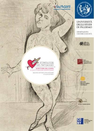 locandina Iconologie del Tatuaggio