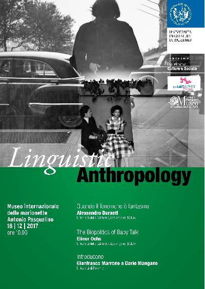locandina Linguistic Anthropology