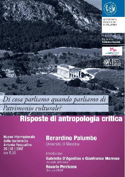 locandina Palumbo Patrimonio culturale