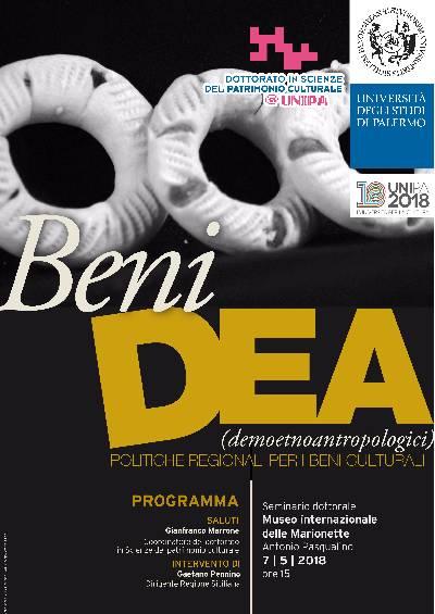 locandina seminario BeniDEA
