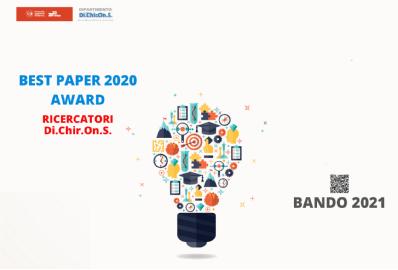 BEST PAPER AWARD 2020