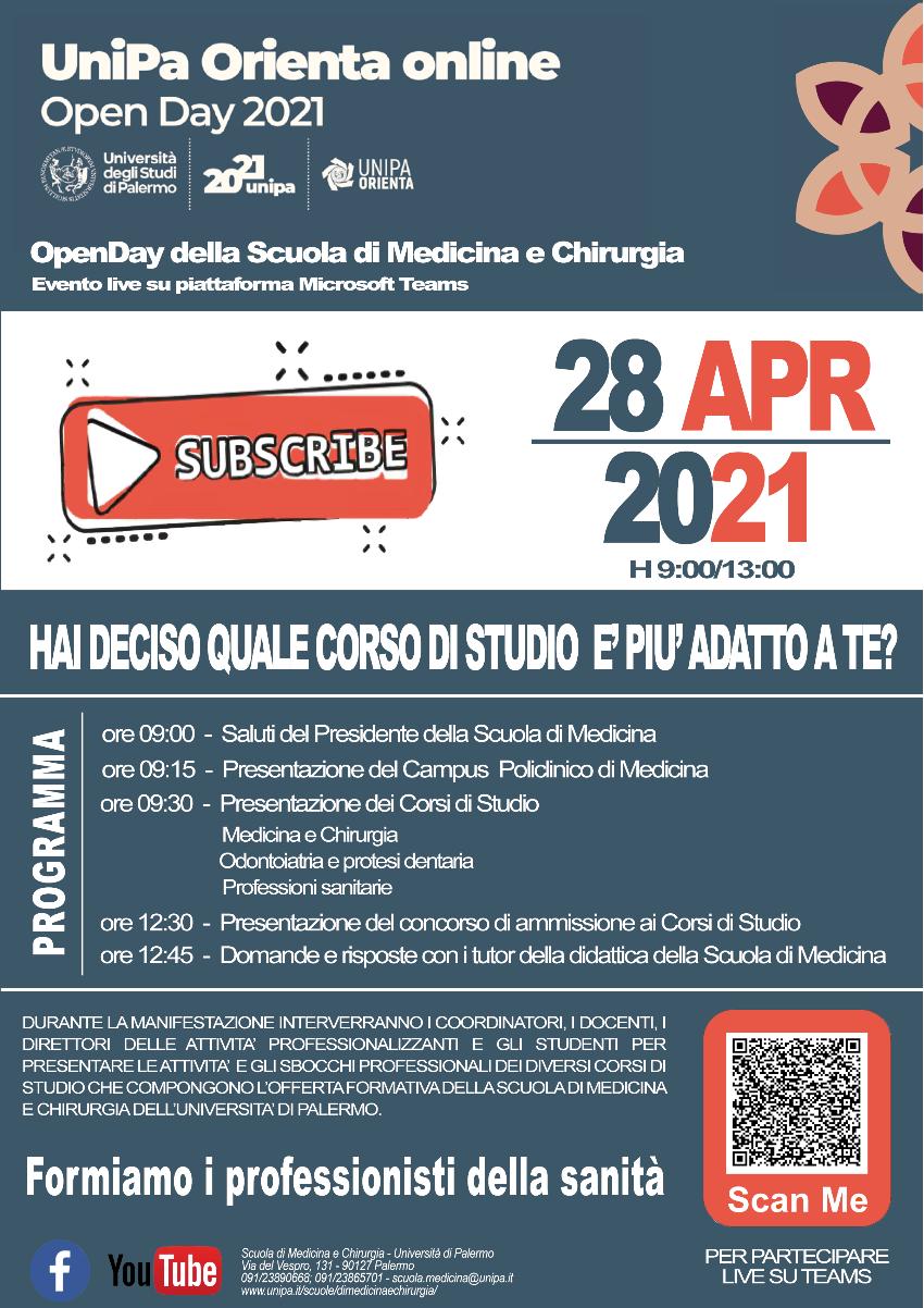 Locandina-OpenDay2021-Scuola-di-Medicina