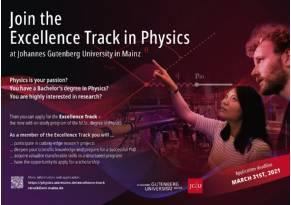 Excellence Track JGU Mainz Poster