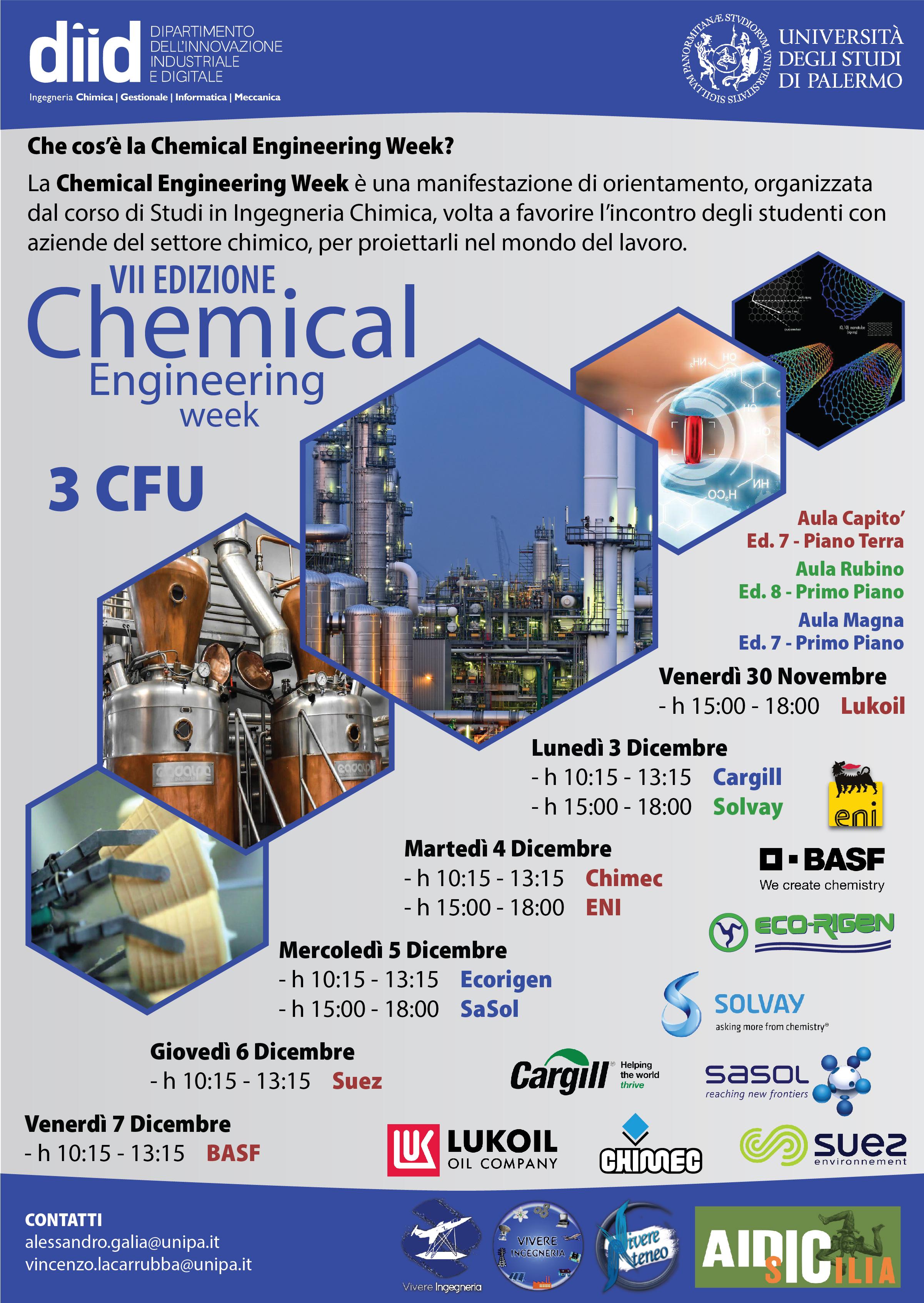Calendario Lauree Unica Ingegneria.Diid Ingegneria Chimica Gestionale Informatica Meccanica