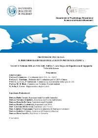 00 - Locandina LM Clinica 2020