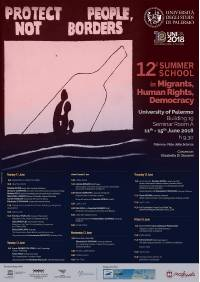 12TH SUMMER SCHOOL in Migrants, Human Right, Democracy