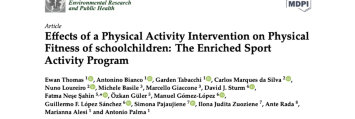 Effects of a Physical Activity Intervention on Physical Fitness of schoolchildren: The Enriched Sport Activity Program