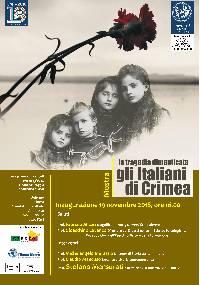 Locandina 19  novembre 2018 Gli italiani di Crimea a cura di Stefano Mensurati