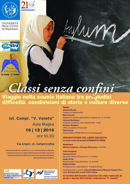 Locandina 16 dicembre - Benedetta Tobagi La scuola salvata dai bambini