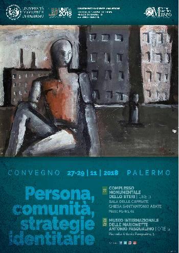 Locandina Convegno Persona comunità strategie identitarie