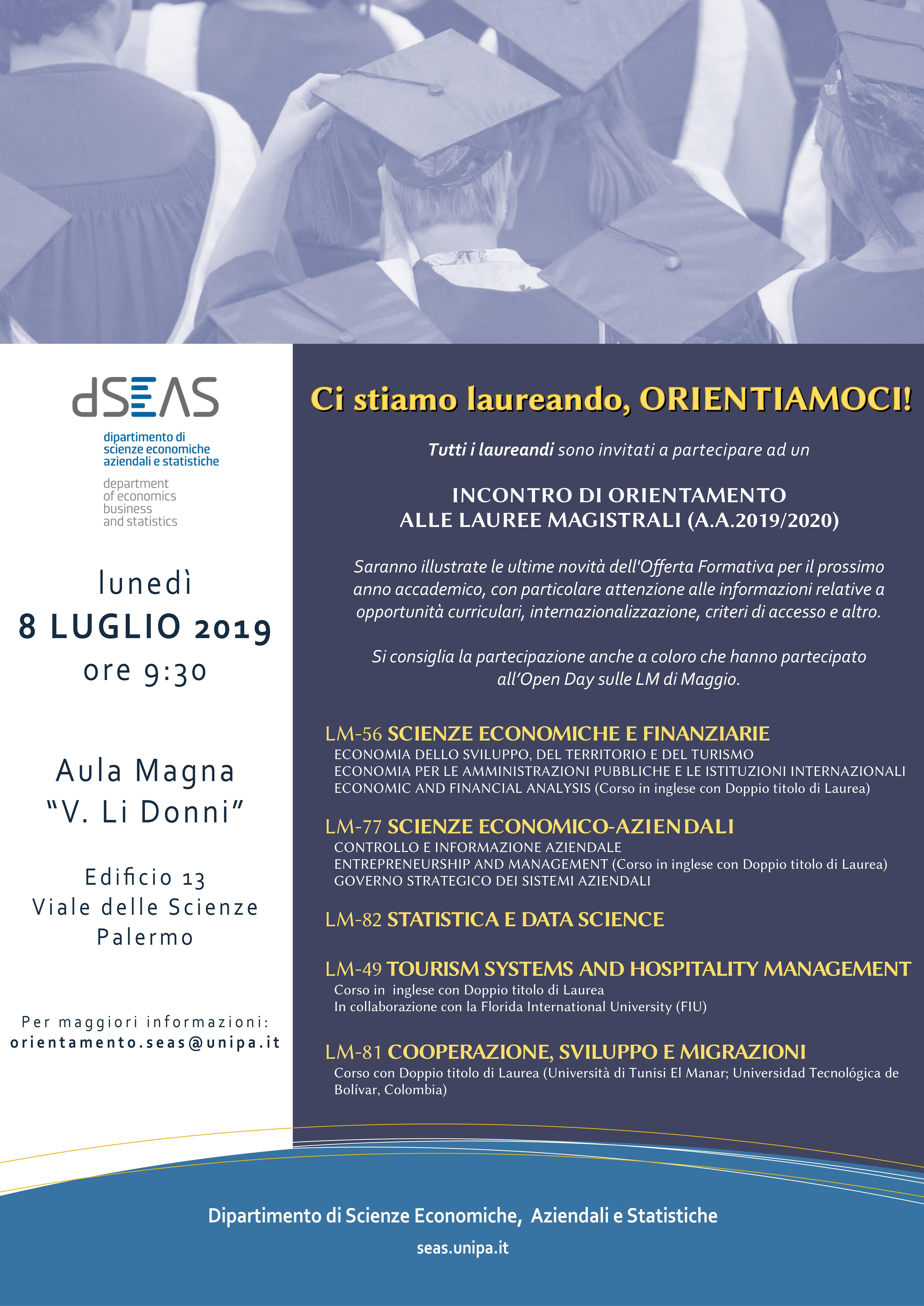 Calendario Unipa 2020.Universita Degli Studi Di Palermo