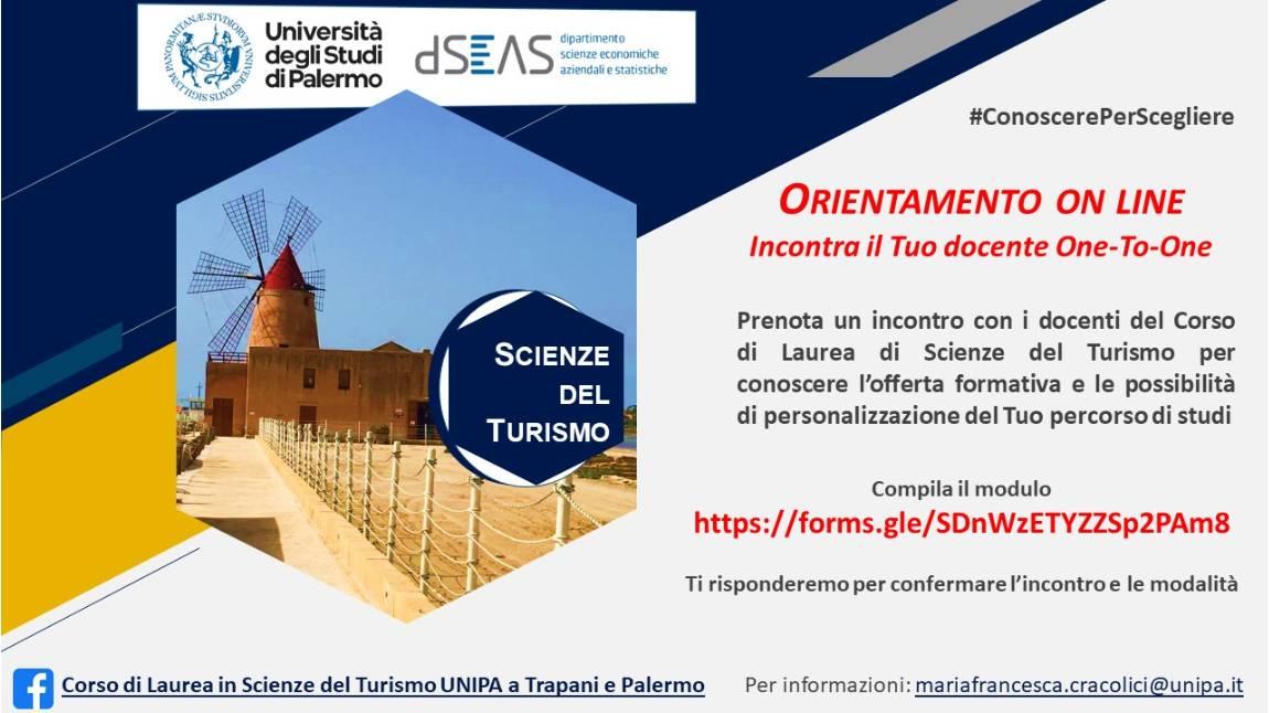 Corso di Laurea in Scienze del Turismo