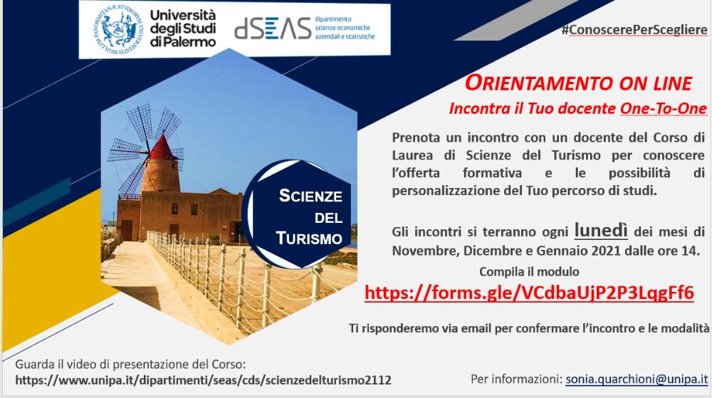 Scienze del turismo 24-11-2020