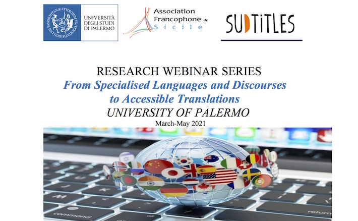 Research Webinar Series: from specialised languages and discourses to accessible translations