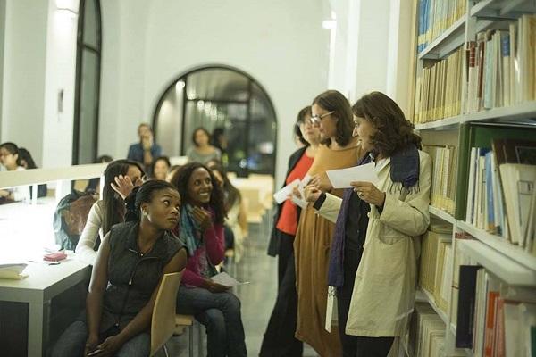 """Scritture migranti 4"""". la compagnia delle poete incontra le donne de"""