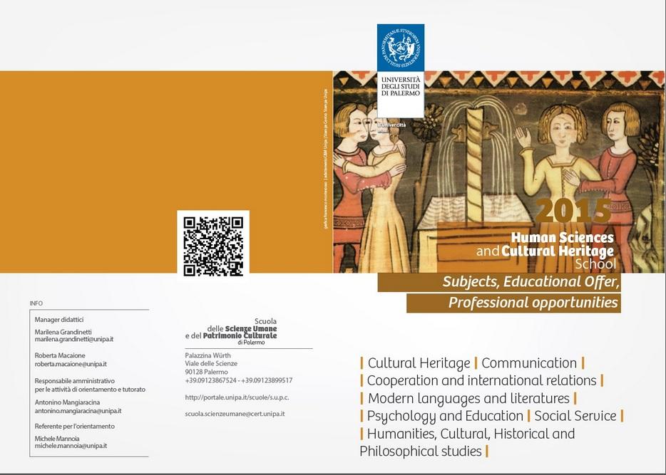 Calendario Didattico Unipa Scuola Delle Scienze Umane.Universita Degli Studi Di Palermo