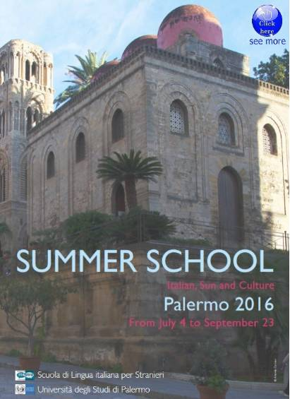 Summer School Itastra -  Palermo 2016 - From July 4 to September 23 . RM