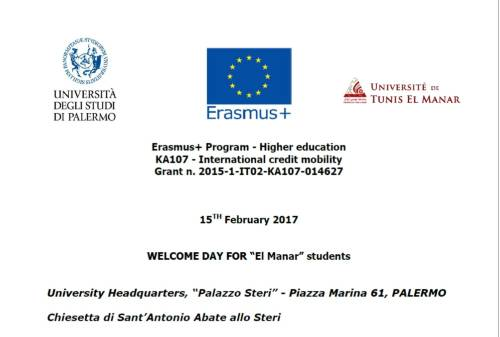 Welcome Day 15.02.2017